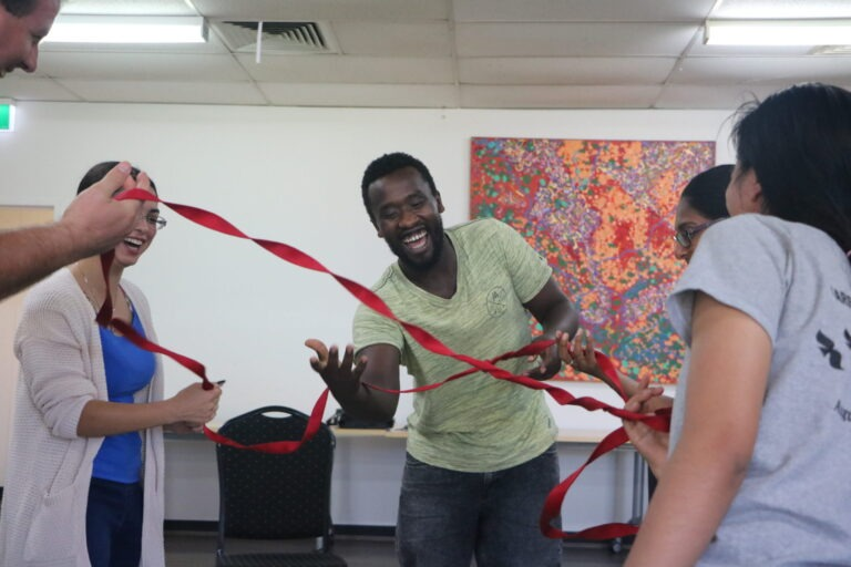 Helping young refugees participate in tailored activities like camps and sports is important to help them settle into their new home in the Illawarra.