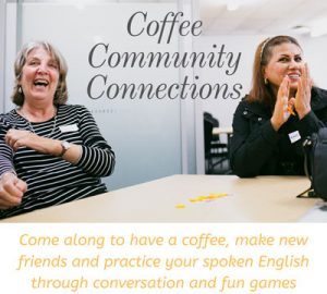 Coffee Community Connections @ SCARF offices