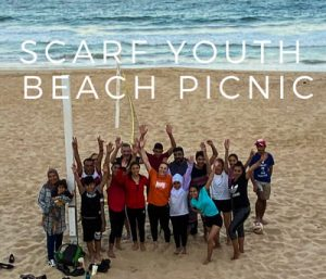 SCARF youth beach picnic @ Wollongong Hardbour