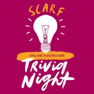 SCARF online trivia fundraiser @ Zoom