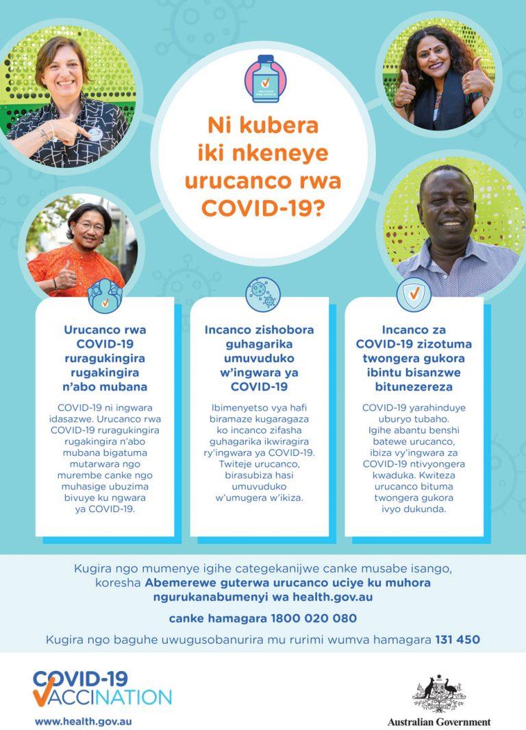 COVID-19 vaccination Kirundi