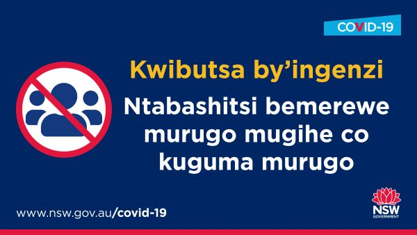 No visitor order Kirundi